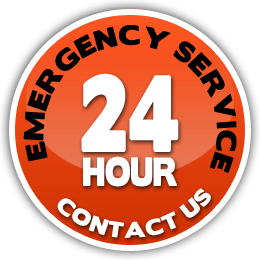 24 hour emergency service contact us