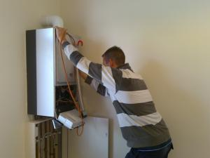 a tankless water heater inspection